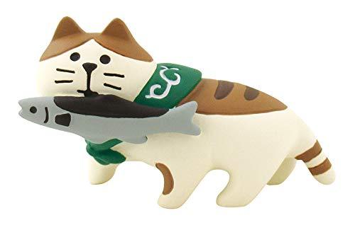 デコレ コンコンブル concombre 秋刀魚猫 60×26×H35mm ZTM-43580