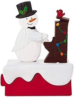 HMK Hallmark 2018 Continuity Snow Many Memories Snowmen #2: Piano Snowman