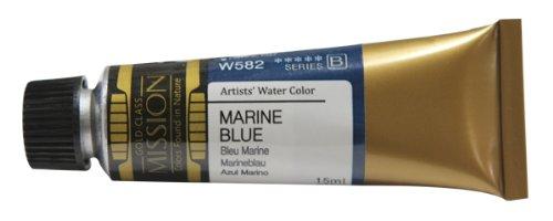 Mijello Mission Gold Class Water Color, 15ml, Marine Blue