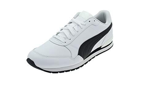 Puma Unisex-Erwachsene St Runner V2 Full L Sneaker, White Black, 43 EU