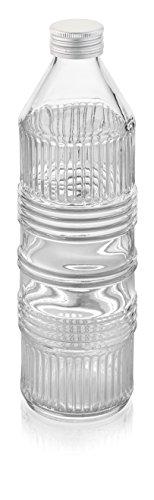IVV Glassware 7718.2 - Bottiglia d'acqua in vetro industriale chic, 20-1/2', altezza 60-3/4 oz trasparente