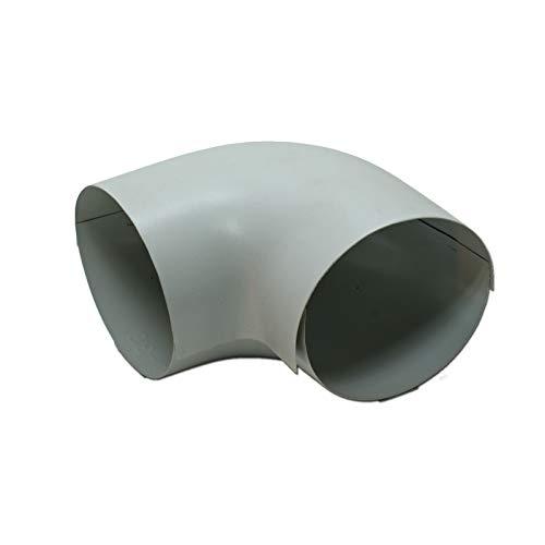 Austroflex 105BAP030028 PVC Außenbogen Bogen Aussenhülle 28-30 zu Steinwolle Isolierung