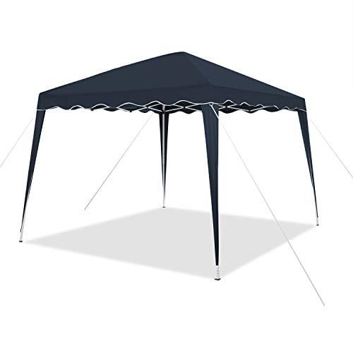 Tonnelle pliable 3 x 3 m avec sac   imperméable, protection UV 50+   tente pop-up tente de jardin, tente de fête Capri (bleu)