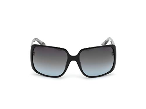 Guess gafas de sol GU7682 01B gafas de sol de las Mujeres de color Negro de la lente de humo de tamaño de 62 mm