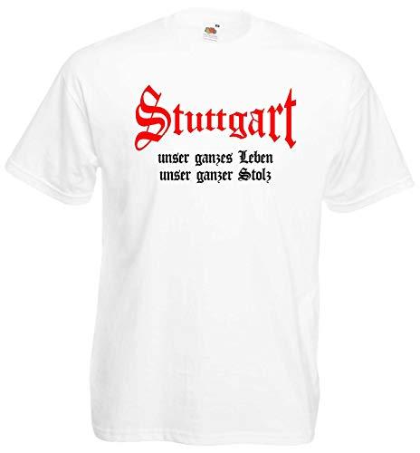 Stuttgart Herren T-Shirt unser Leben unser Stolz Ultras