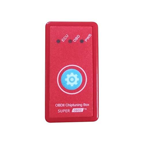 OBD2 con botón de reinicio Potencia para automóviles diésel Chips de rendimiento Tuning Box Plug & Drive OBD2 Más potencia Torque