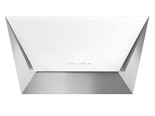 Falmec Campana Cocina Diseño Prisma Pared 85cm cristal blanco