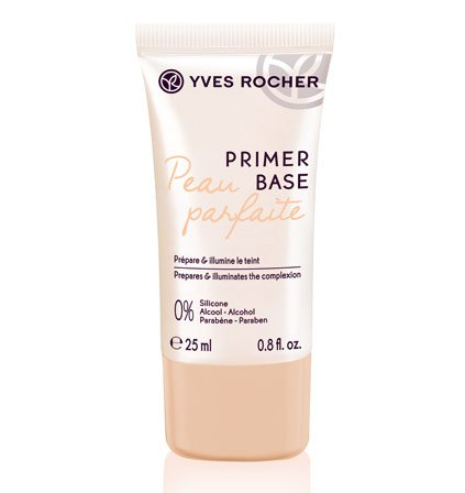 Yves Rocher COULEURS NATURE Make-up Primer strahlend, fixierende Base für die Foundation, 1 x Tube 25 ml