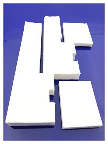 huiy ue 1 Unidades cartucho de tinta de desecho esponja almohadilla para L300 L301 L303 L310 L310 L350 L351 L358 L355 L111 L110 L210 L211 ME101 ME303 ME401 Accesorios de impresora