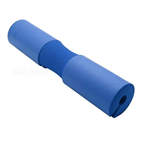 Ipop Retail Barbell Pad Squat Bar Thick Foam Cushion Protector for Neck and Shoulder (Blue)