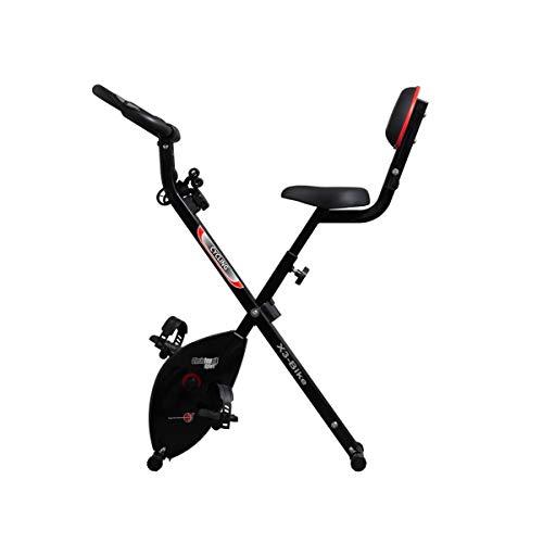 Christopeit Unisex– Erwachsene Heimtrainer X 3 Bike, schwarz, L 83 x B 43 x H 116 cm