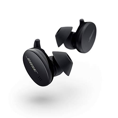 Bose Sport Earbuds - True Wireless Earphones - Bluetooth In Ear Headphones for Workouts and Running, Triple Black