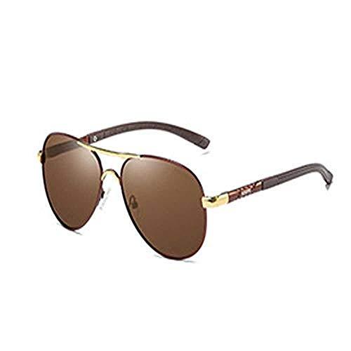 Nobrand Gafas de sol Gafas de sol polarizadas para hombres Gafas de conducción con montura grande Gafas de sol deslumbrantes