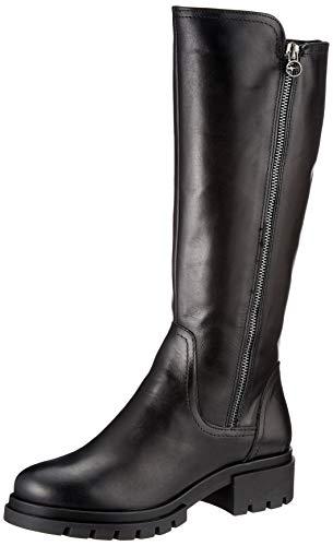 Tamaris Damen 1-1-25618-25 Kniehohe Stiefel, schwarz, 41 EU