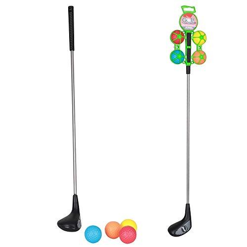 Les Colis Noirs LCN - Jeu de Golf - 1 Club et 4 Balles -...