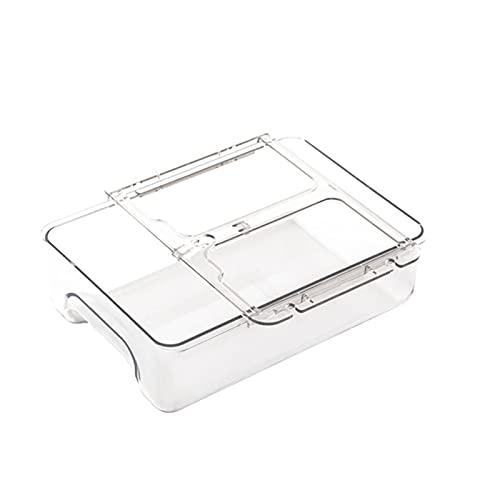 RENJIELI Cajón Caja de Almacenamiento de Escritorio Organización de OficinaEstantes de Escritorio para Estudiantes Papelería Colgante pequeño Invisible