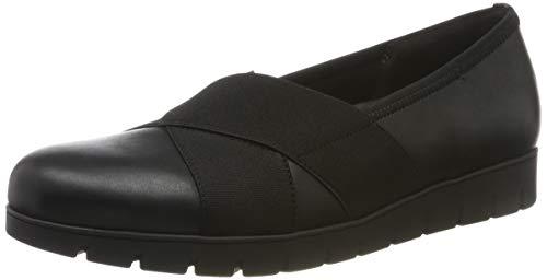 Gabor Shoes Damen Comfort Sport Geschlossene Ballerinas, Schwarz (Schwarz 57), 43 EU
