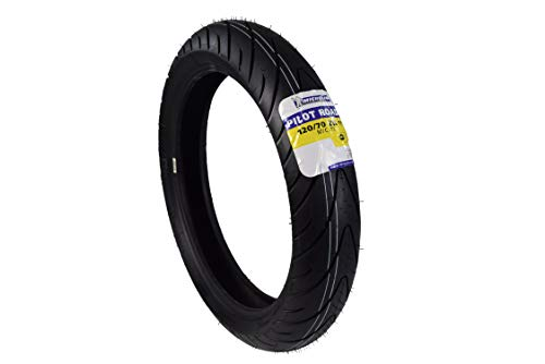 Michelin Pilot Road 2 Sport Touring Motorcycle Front Tire Radial Sport Bike Road II 120/70-17 (120/70ZR17 Front)
