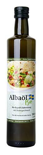 Alba - Albaöl Bio Rapsöl Zubereitung mit Buttergeschmack (500g)