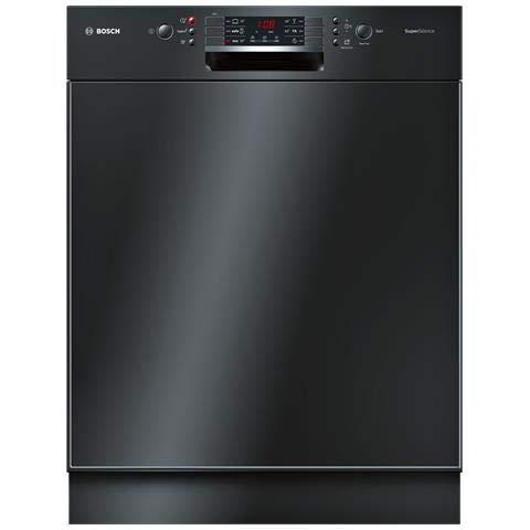 Bosch Serie 4 SMD46IB21E lavavajilla Bajo encimera 13 cubiertos A++ - Lavavajillas (Bajo encimera, Negro, Tamaño completo (60 cm), Negro, Botones, 1,75 m)
