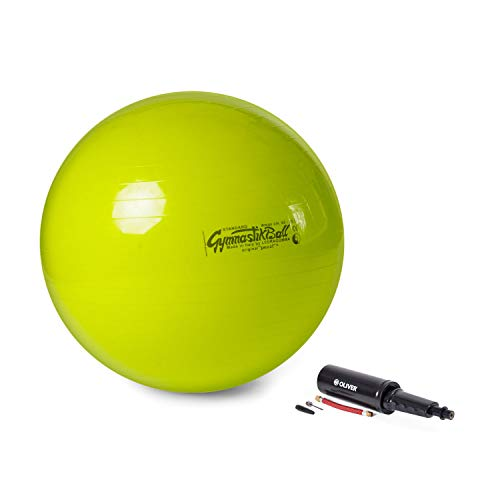 PEZZI Original Pezziball Standard 65 cm m. Pumpe Kombi Gymnastikball lindgrün