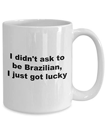 Braziliaanse koffie mok thee kopje keramische mok grappige mok koffie Cup