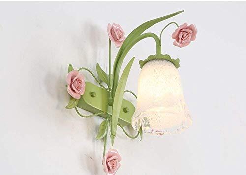 YWJWJ Seelsorge Hot Wandlampe & Romantik Wohnzimmer Nachttischlampe Lounge Restaurant Walk...