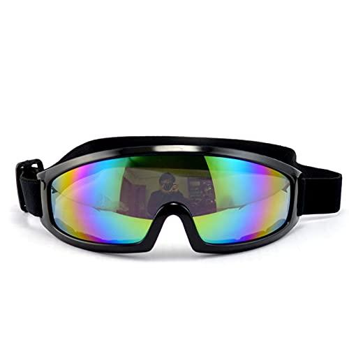 ZHYYYDS Marco De Metal Gafas Pequeñas Redondas para Mascotas Accesorios para Fotos con Espejo Adecuado para Gatos O Perros Pequeños Gafas De Sol Especiales