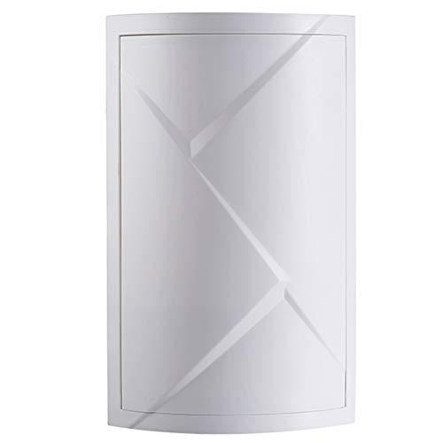 Badkamerrekken, hoekmuur vrijhangend driehoek zuigwand badkamer toilet wastafel vloer opbergrek,M1