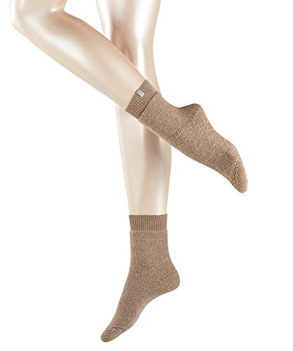 ESPRIT Damen Socken Relax - Wollmischung, 1 Paar, Braun (Nutmeg Melange 5410), Größe: 39-42