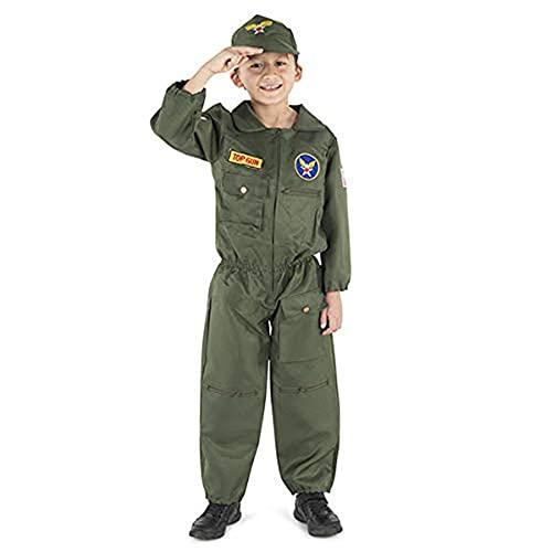 Dress Up America Costume da pilota dell'aeronautica bambini