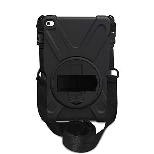 iPad Pro 12.9 2018 ケースショルダー ストラップ 丈夫 頑丈 ラギッド タフ 保護 衝撃 吸収 Trysunny ゴム シリコン キャリー キッズ ホルダー バッグ スタンド 付 A1876 A1895 A1983対応