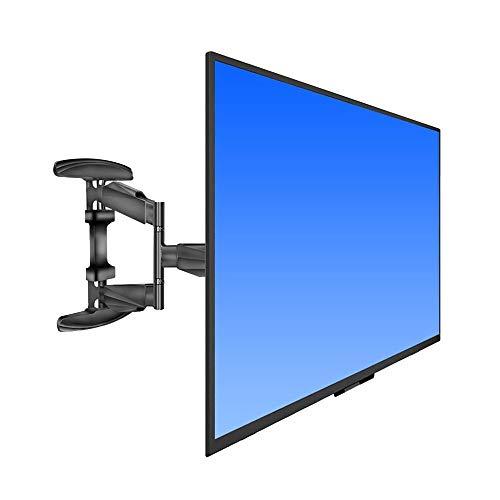 Soporte De Montaje En Pared para TV - para  Televisores De Pantalla Plana De Plasma Curvo 3D LCD LED De 32-50', Inclinación Y Giro con Sistema De Gestión De Cables - Capacidad De Peso Súper Fuerte D