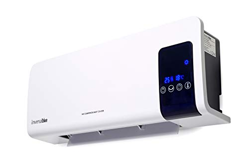 UNIVERSALBLUE - Calefactor Punta Cana - Split de baño - Potencia 1000W 2000W - Función Calefactor o Ventilador