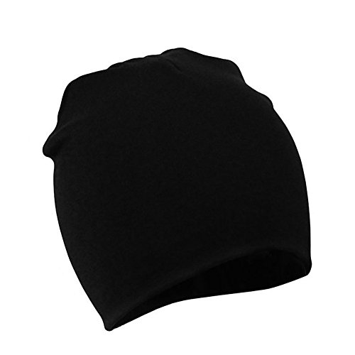 Zando Toddler Infant Unisex Kids Children Cotton Newborn Soft Cute Lovely Knit Warm Baby Essentials Hat Beanies Cap C Black Large (1-4 years)