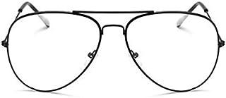 Aviation gold Frame Sunglasses Female Classic Eyeglasses Transparent Clear Lens Optical Women Men glasses Pilot Style