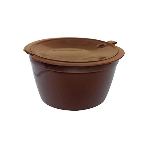 Tapas recargables, 3 unidades, taza de filtro de cápsulas de café reutilizable para sabor suave, cesta de filtro de cepillo dulce, cápsulas, 1 unidad, Federación de Rusia