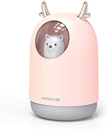 Jeiaoveu USB Mini Ranking TOP11 Arlington Mall Humidifier 300ml Portable Cool Hu Desktop