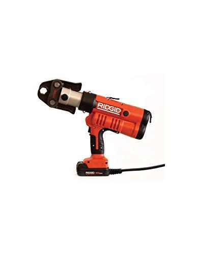 RIDGID 43318 Modelo RP 340-C Selladora Kit con Cable, Caja + Adaptador de Red de 220 V + Mordazas U 16, 18-20mm