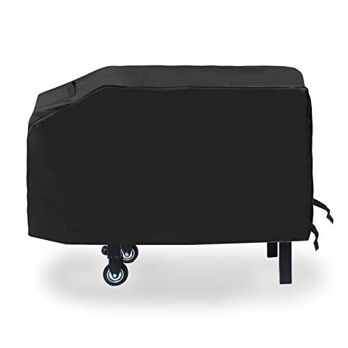 soldbbq 28 inch Blackstone Grill Griddle Cover, 600D Waterproof Flat Top Cooking Station Grill Cover with Sealed Seam, Outdoor Heavy Duty Camp Chef Griddle Flat Top Grill Similar Size