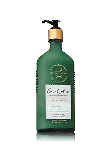 Bath and Body Works Eucalyptus Essential Oil Body Lotion 6.5 oz.