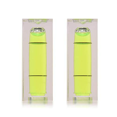 Lepeuxi Calibro livellatore per livella a bolla Mini Precision per cartucce giradischi per giradischi, 2 pz. / Pacco