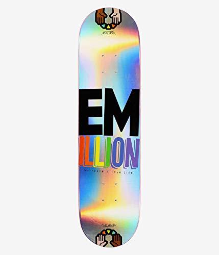 Emillion Skateboard Deck Laser One World 31,5'' x 8''