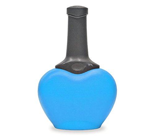 MEDIA WAVE store Paletta per lettiera 10512 Cupido con Tappo Porta Sacchetti Vari Colori (Azzurro)