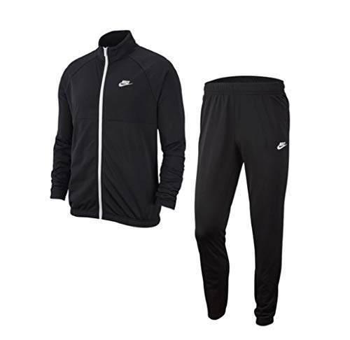 Nike Track Suit Trainingsanzug (L, Black/White)