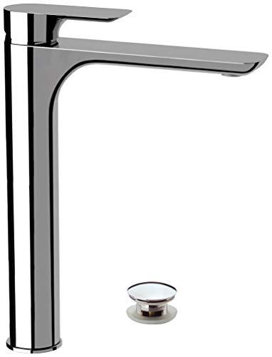 Remer - Rubinetto lavabo alto senza scarico - Serie Infinity - I11L