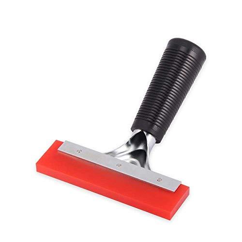 Escobilla de goma para ventana de coche, con mango de vinilo, herramienta de limpieza de limpiaparabrisas, para nieve (6 pulgadas)