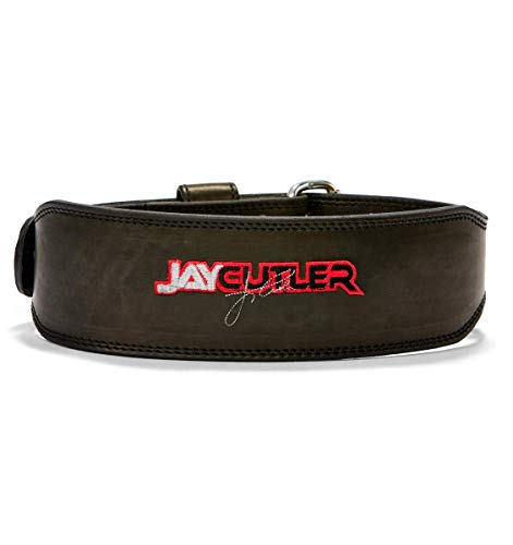 Schiek Sports, Inc. Leather Jay Cutler Signature Belt in Black Size: Small (27' - 32')