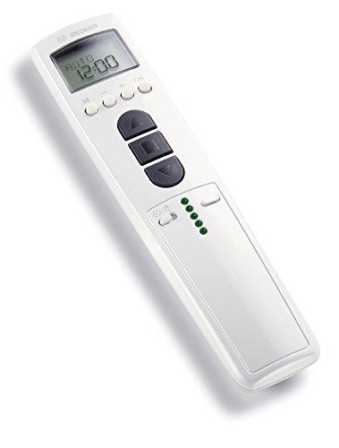 Becker TimeControl TC4410-II 10-Kanal Handsender mit kanalbezogenen. Weiß Zeitschaltuhren