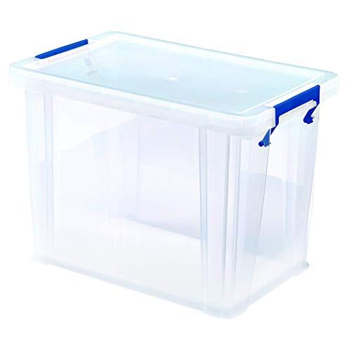BANKERS BOX ProStore Aufbewahrungsbox mit Deckel 18,5 Liter aus Plastik (Innenmaße 28 x 32 x 20 cm), 1 Stück, 7730501